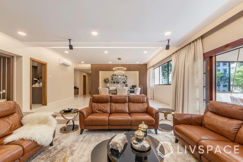 modern-interior-design-living-room-brown-leather-sofa
