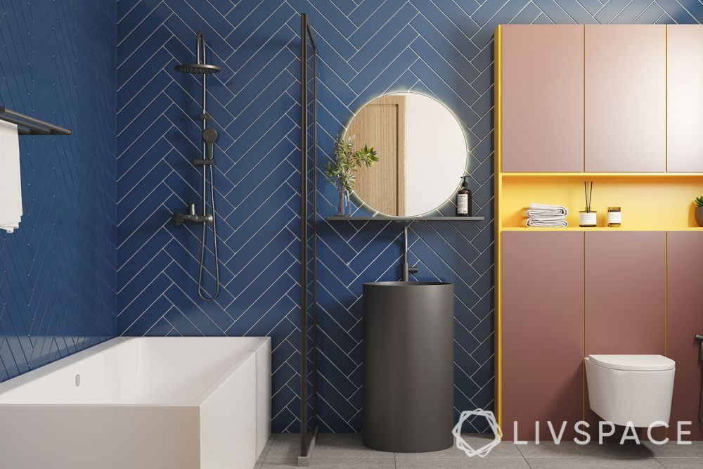 bathroom-tiles-herringbone-pattern-blue-tiles
