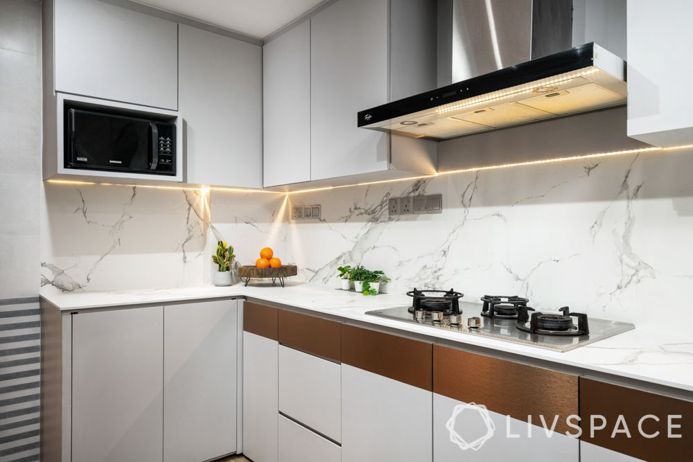 kitchen-colours-small-kitchen-white-cabinets-metallic-accent