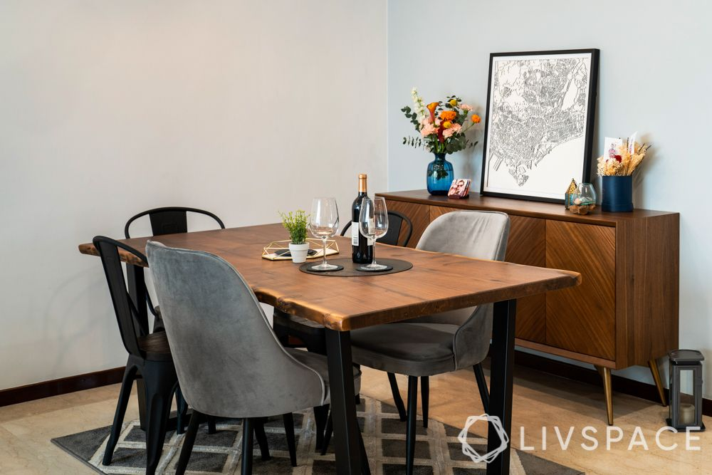 dining-room-design-sleek-wooden-table-grey-chairs