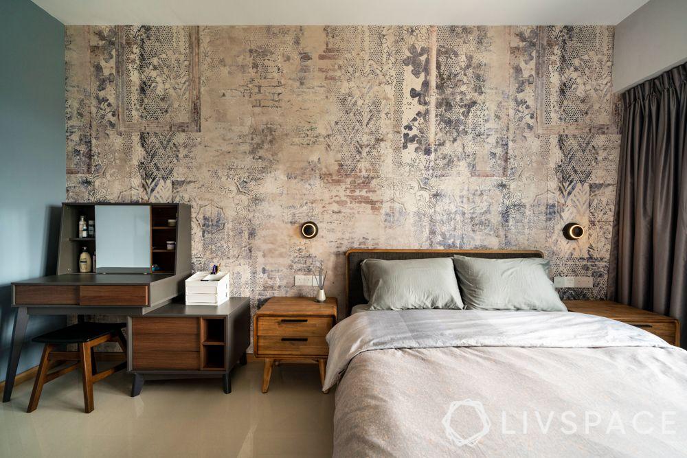 bedroom-ideas-wallpaper-printed