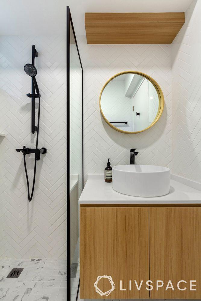 toilet-design-laminate-vanity-white-tiles-black-fixtures