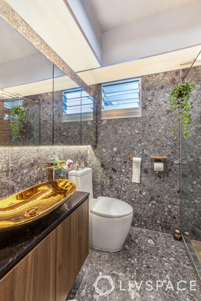 toilet-design-bling-metallic-sink-granite-flooring
