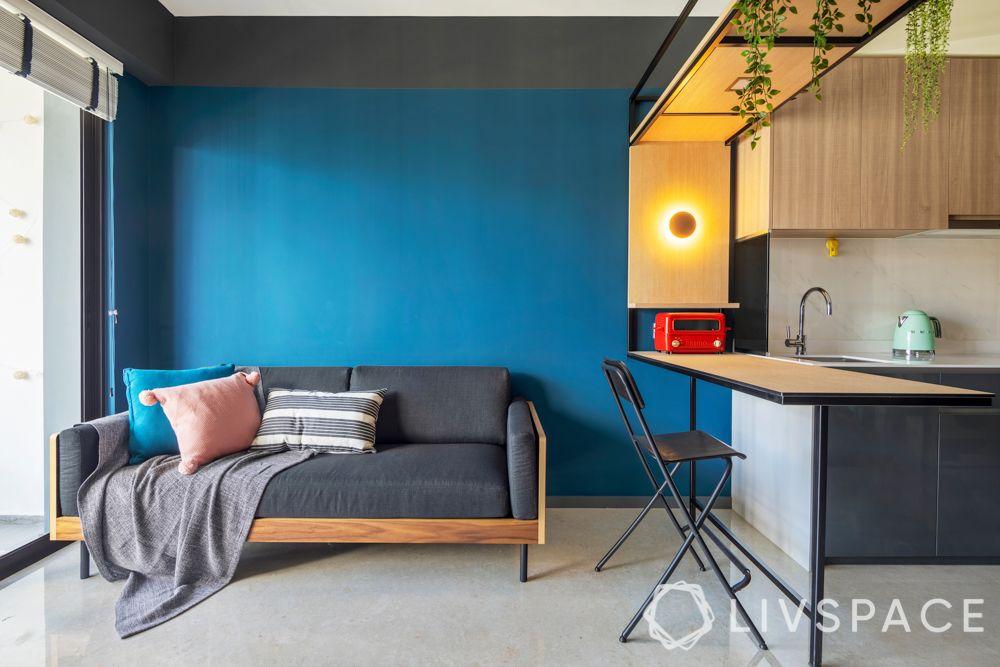 condo-living-room-design-wall-paint-blue-walls