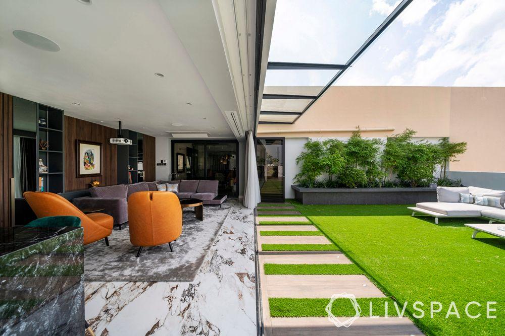 condo-renovation-singapore-balcony-greenery-marble-flooring