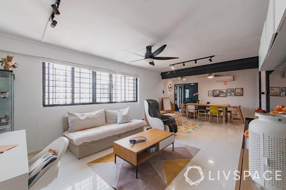 3gen-flats-open-layout-sofa-cum-bed-wooden-centre-table