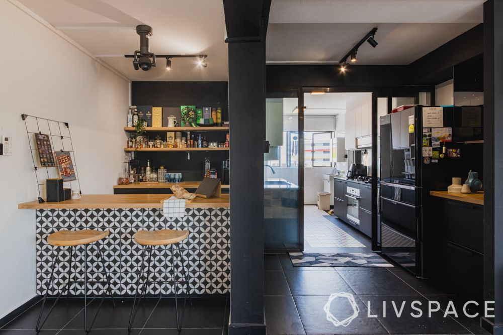 3gen-flats-breakfast-counter-kitchen-entrance-cafe-style-bar-stools