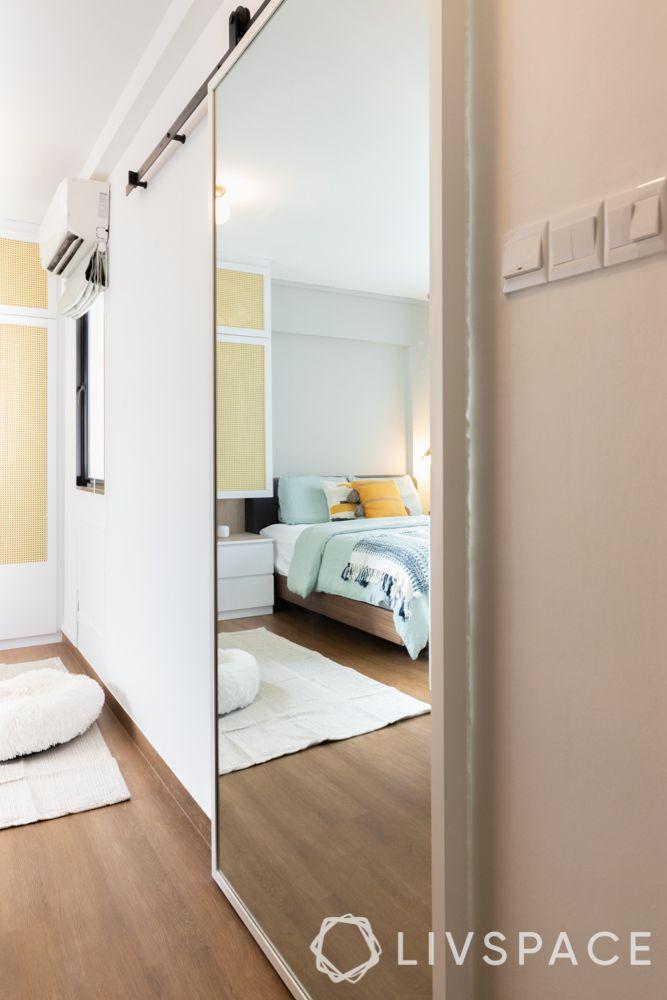 toilet-renovation-cost-sliding-mirror-door-entrance