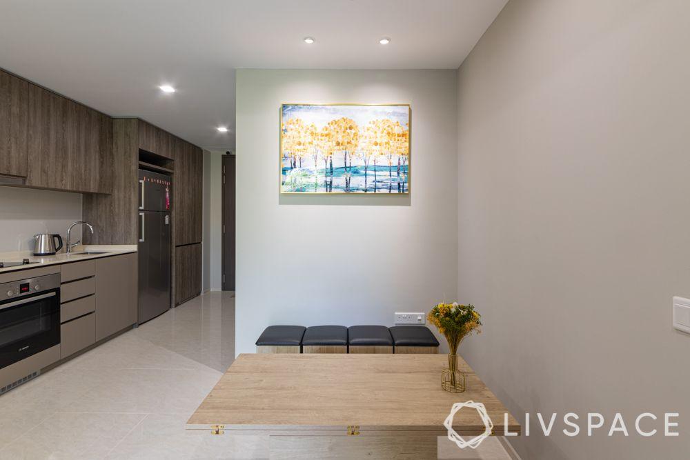 1-bedroom-condo-dining-room-wooden-table