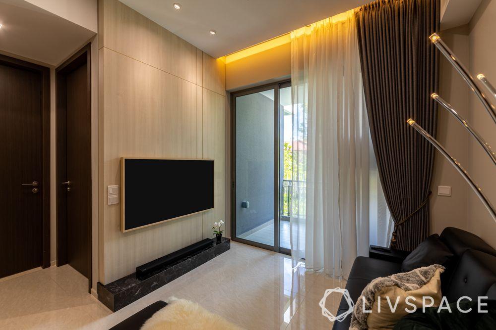1-bedroom-condo-living-room-laminate-tv-unit