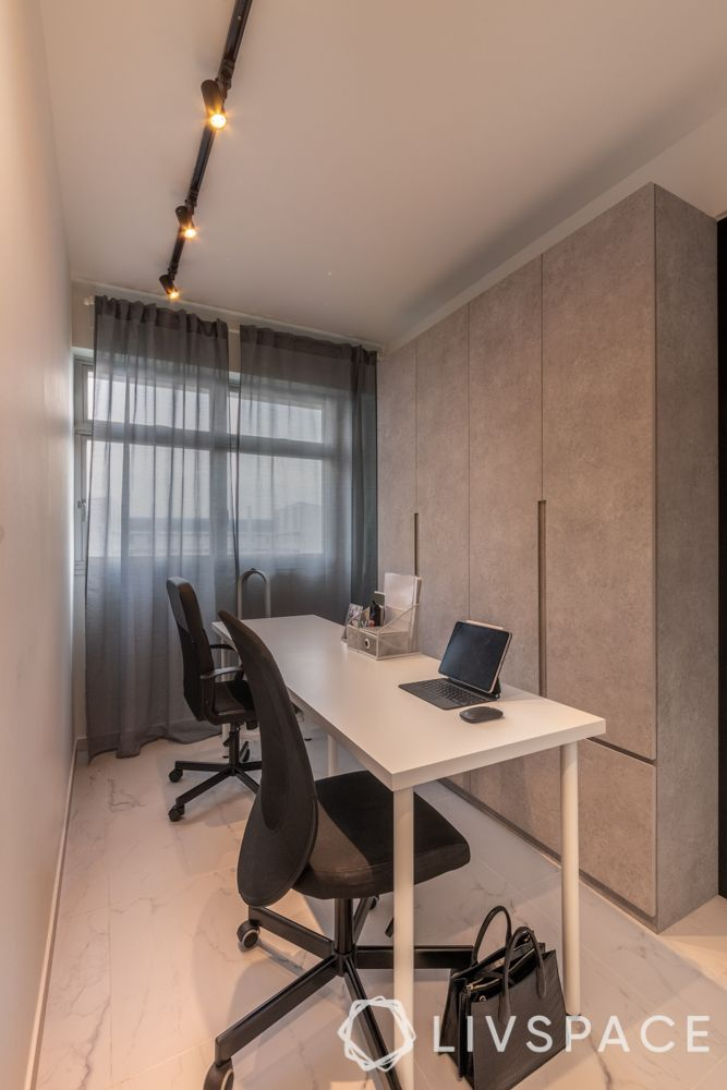 home-office-ideas-open-layout-white-desk-office-chairs