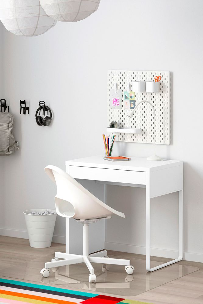 home-office-ideas-ikea-small-study-desk-revolving-chair