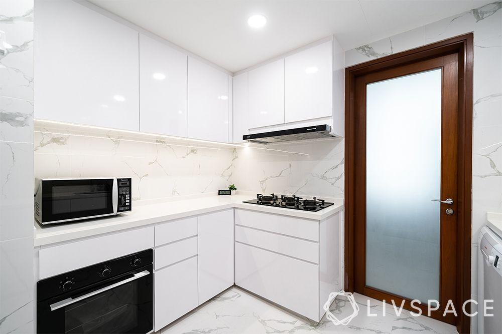 kitchen-ideas-singapore-white kitchen-cabinets-contemporary kitchen