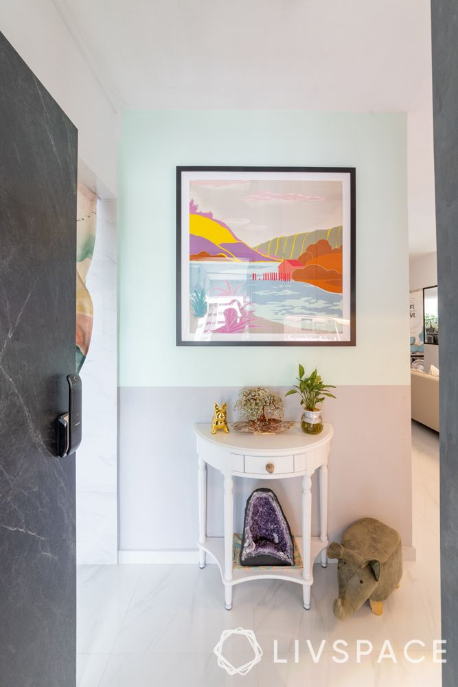 3-room-resale-flat-foyer-entryway-console-table-wall-art