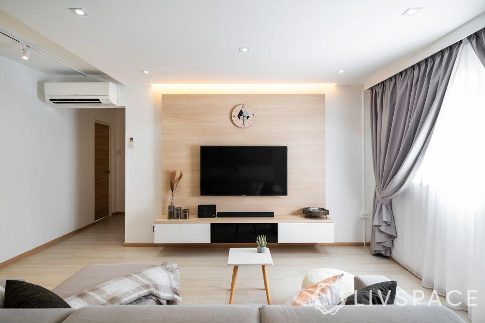 space-saving-ideas-living-room-wall-mounted-tv-unit-laminate