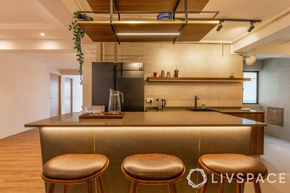 space-saving-ideas-kitchen-breakfast-counter