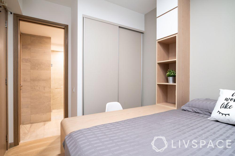 small-house-design-niche-wardrobe-sliding-door