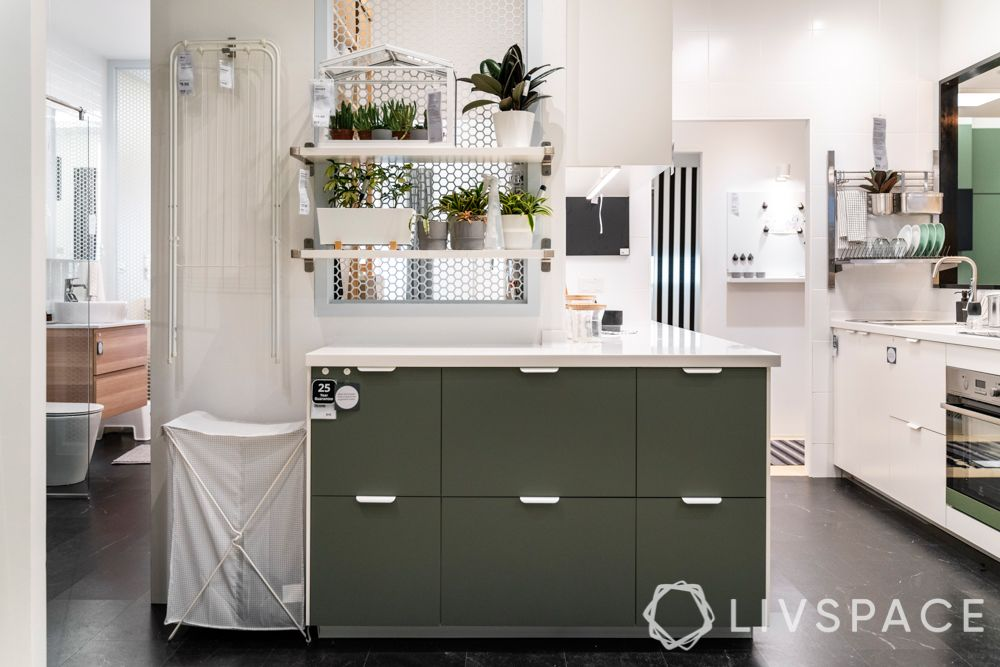 hdb-bto-package-hemsäker-insurance-green-cabinets-white-wall