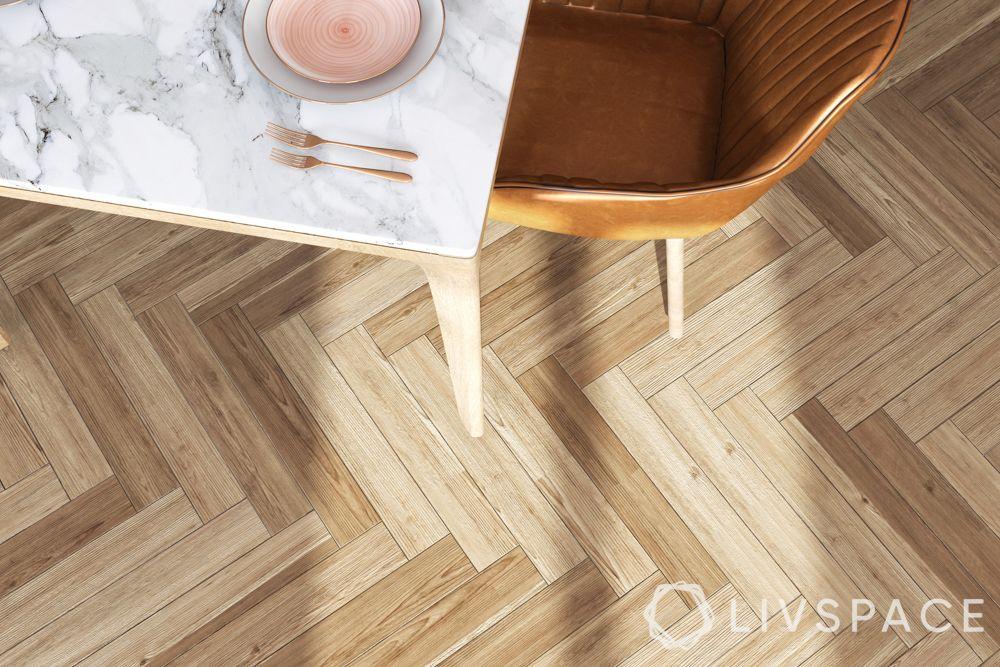 types-of-flooring-vinyl-herringbone-pattern