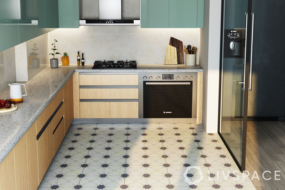 types-of-flooring-linoleum-tiles-kitchen-pattern