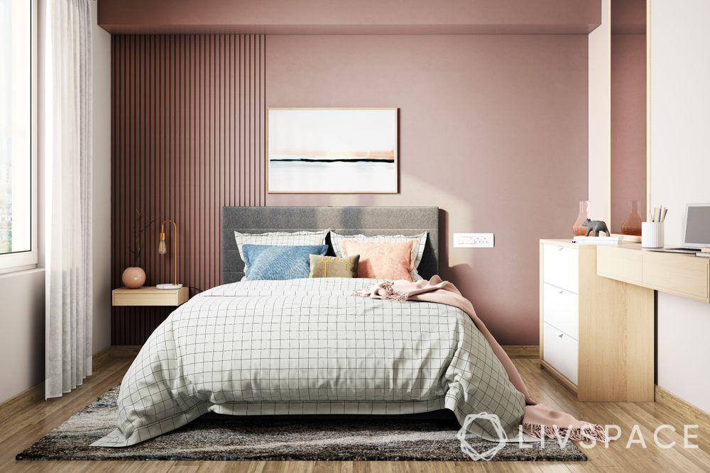master-bedroom-ideas-soft-furnishings-pink-wall