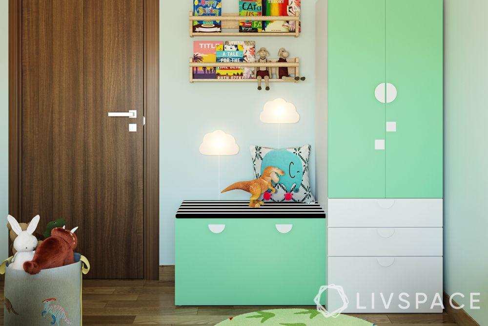 home-interior-design-singapore-joy-wardrobe-green-seating-toy-storage