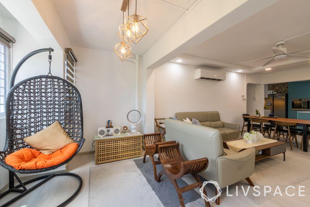 executive-apartment-reading-corner-swing-pendant-lights