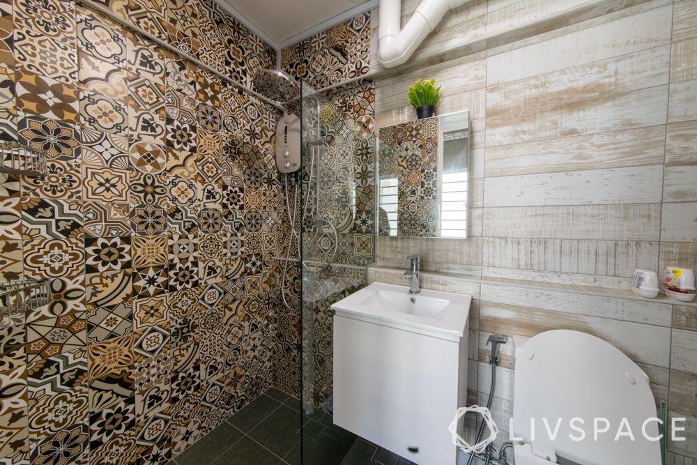 executive-apartment-bathroom-moroccan-wall-tiles