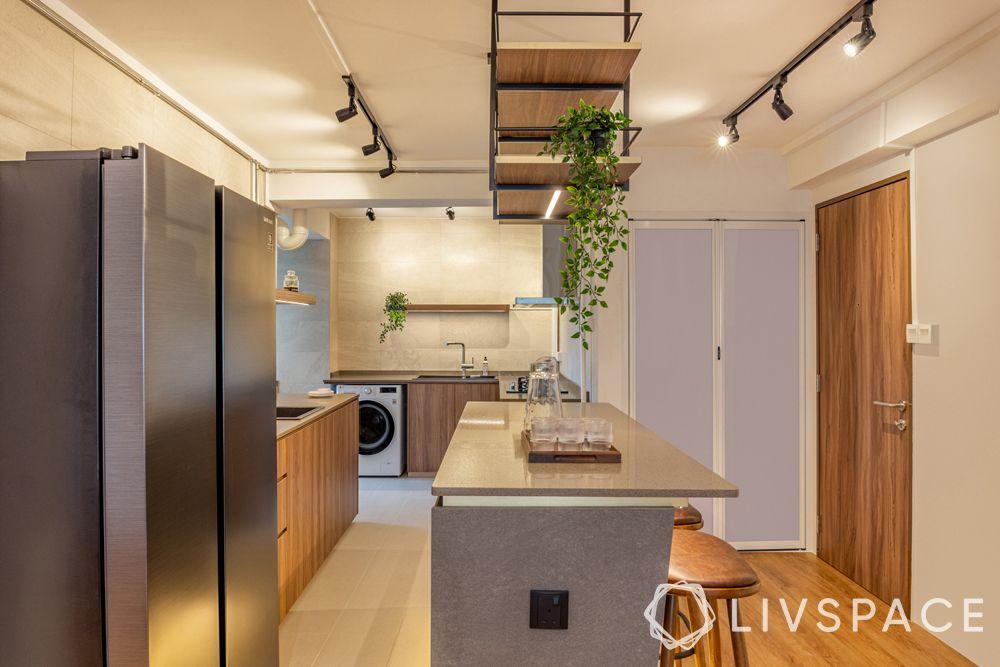 open-concept-kitchen-hdb-wood-island-lighting