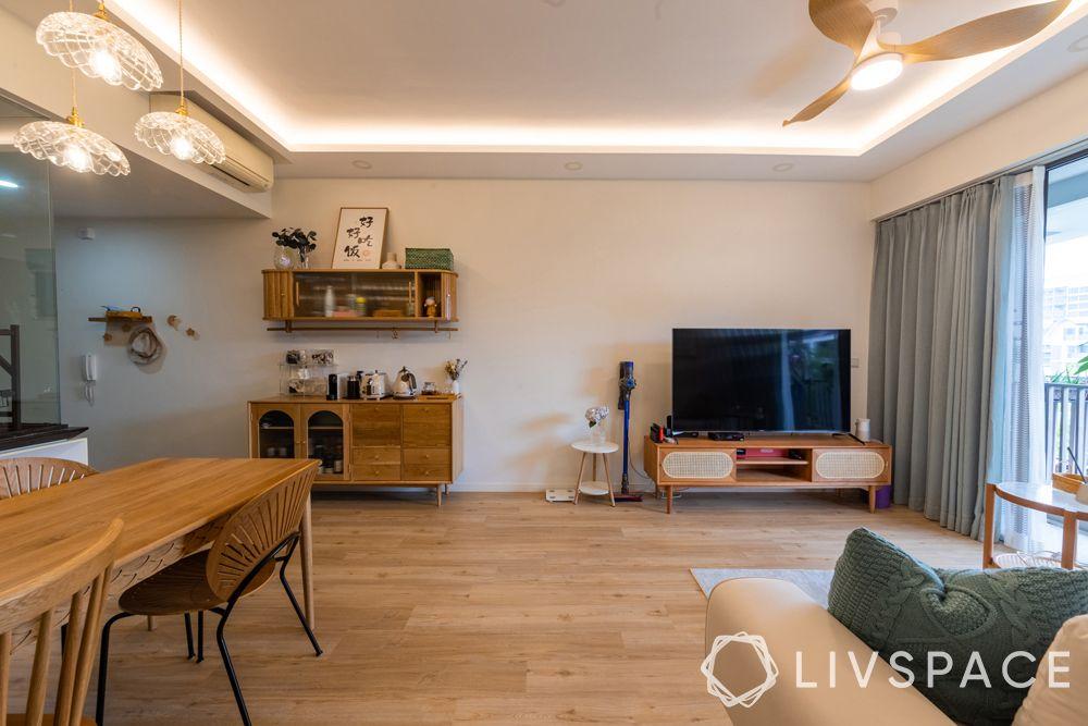 Copy of Livspace 10 1small-condo-design-ideas-resale-condo-wooden-scandinavian-white-walls