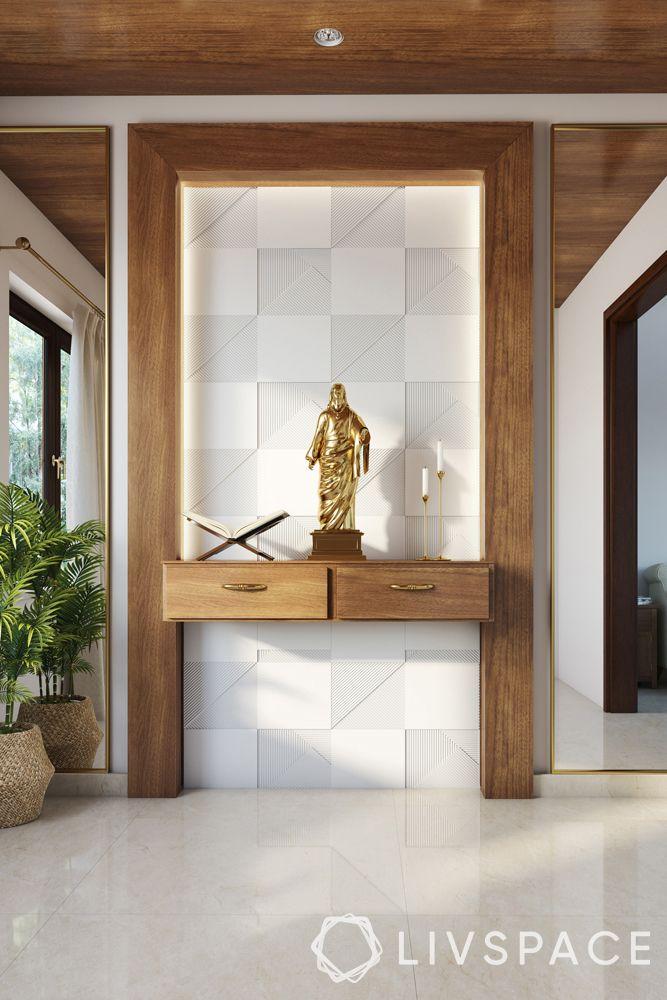 catholic-home-altars-modern-design-wooden-panel-white-tiles
