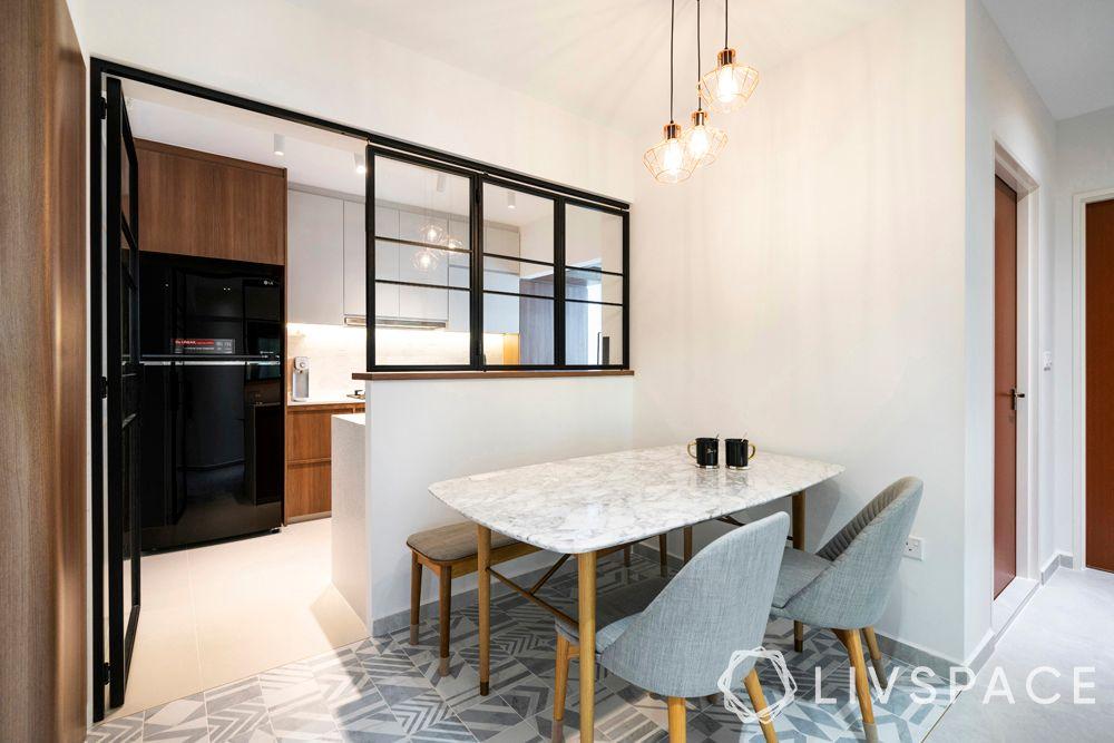 minimal-interior-design-dining-room-patterned-floor-tiles