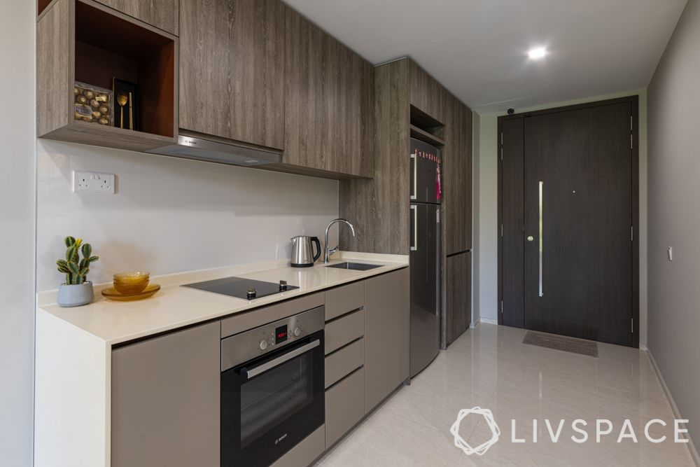 small-condo-renovation-ideas-kitchen-wooden-brown-vertical-space