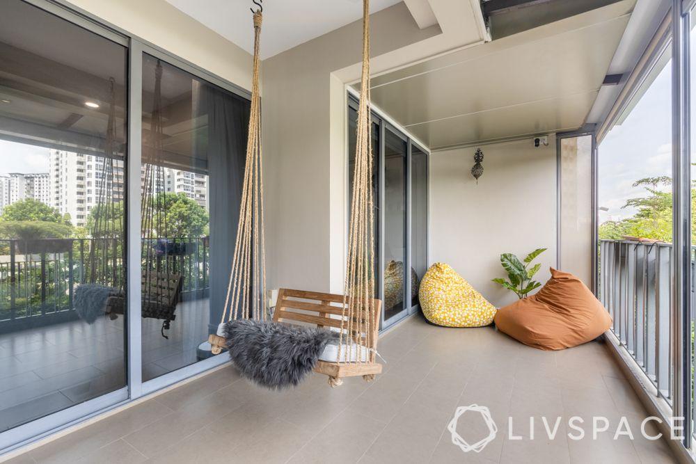 balconies-kids-swing-spacious-balcony-bean-bags