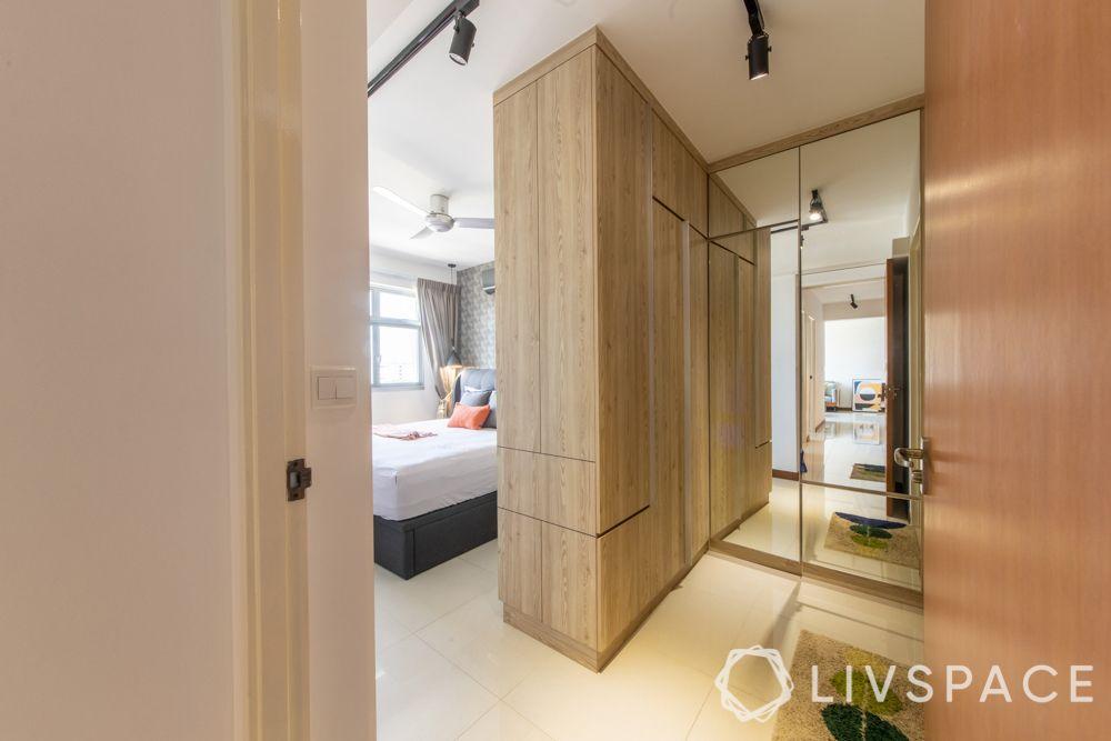 hdb-4-room-resale-renovation-master-bedroom-wooden-wardrobe-partition-dressing-area