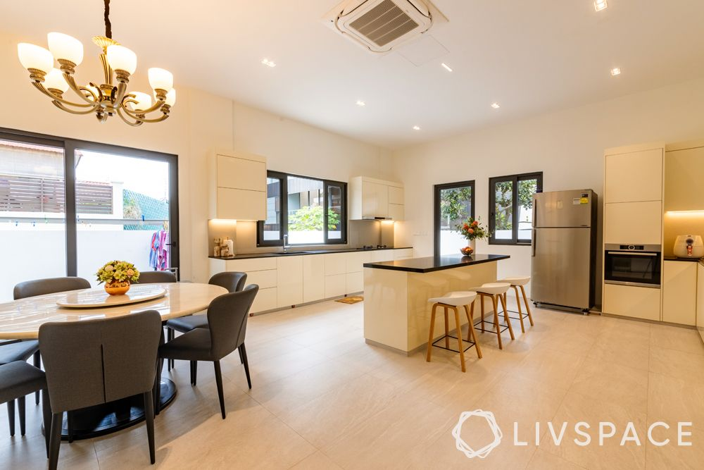 landed-house-design-kitchen-round-dining-table-grey-chairs