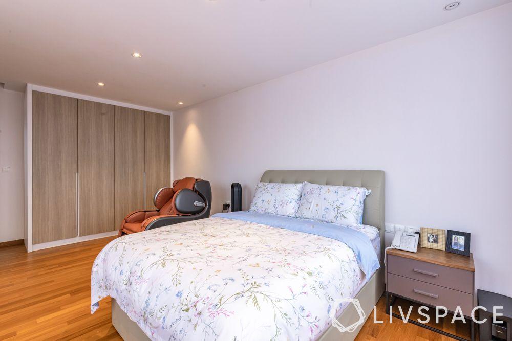 landed-house-design-bedroom-laminate-wardrobes-compact-bed