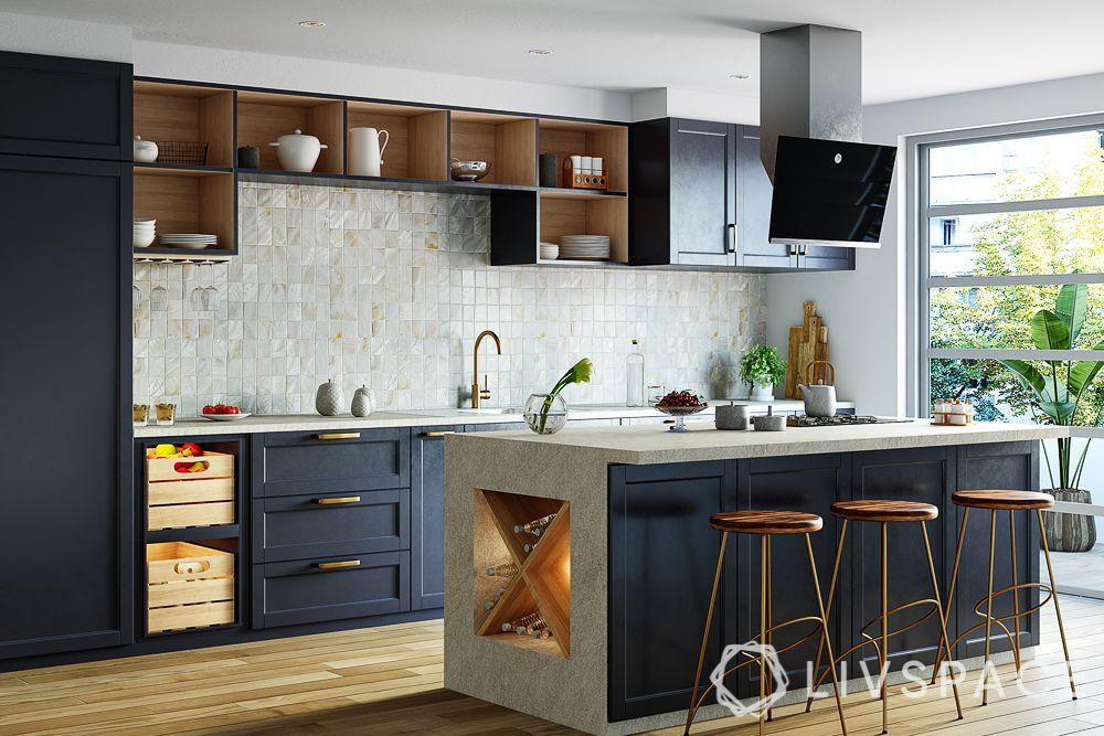 open-storage-units-in-kitchen-island