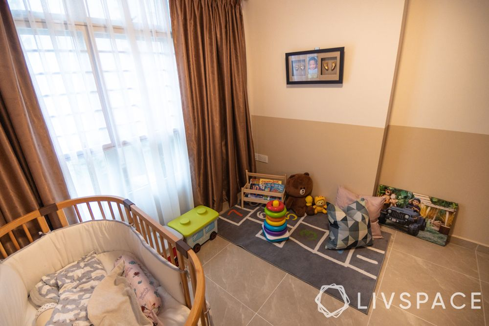 childrens-bedroom-small bed-playmat