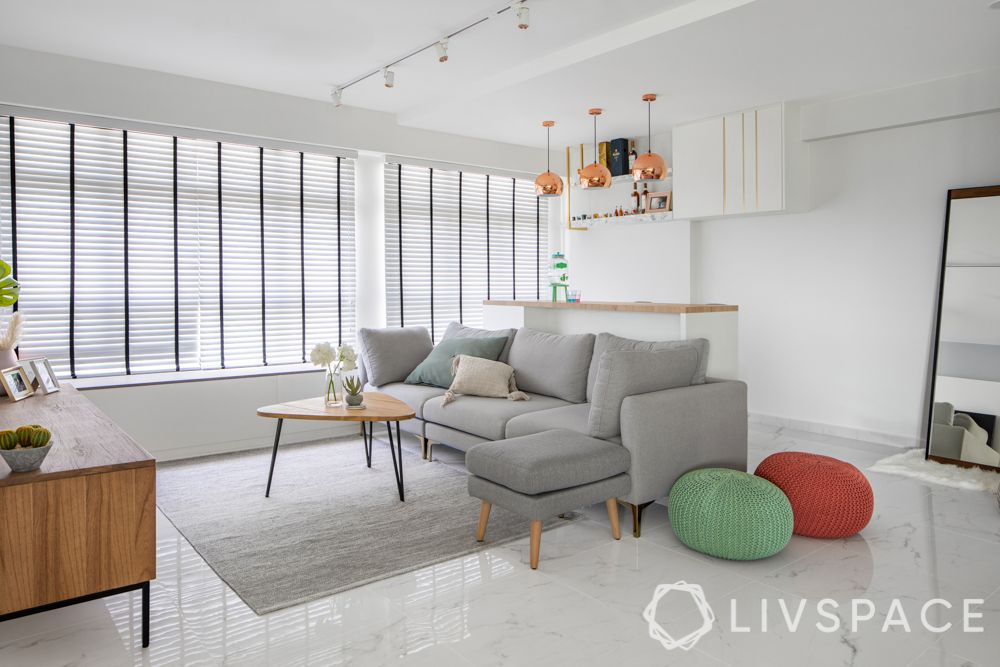 minimalist-living-room-modern-furniture-colourful-pouffes