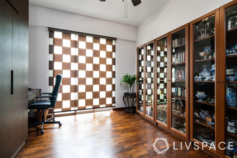 parquet-flooring-grid-curtain–light-walls