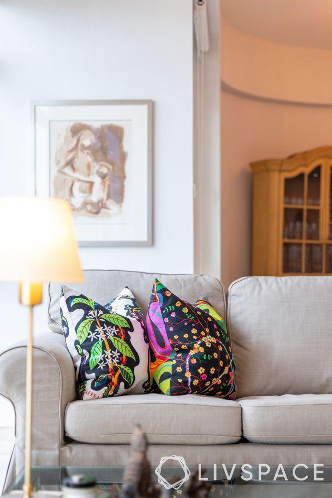 2-bedroom-condo-sofa-colourful-cushions