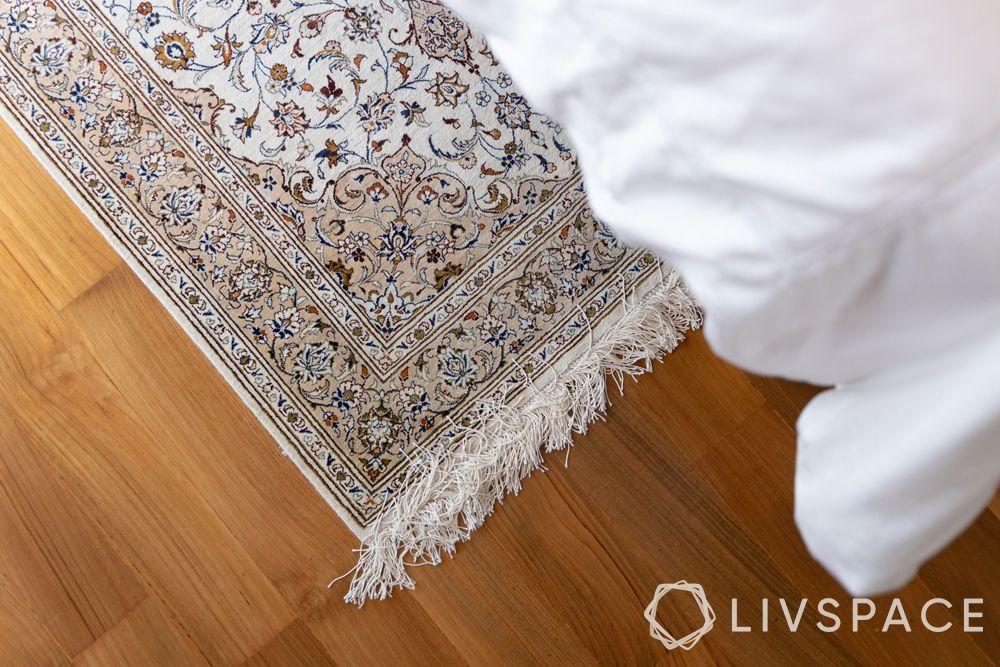 2-bedroom-condo-printed-rug
